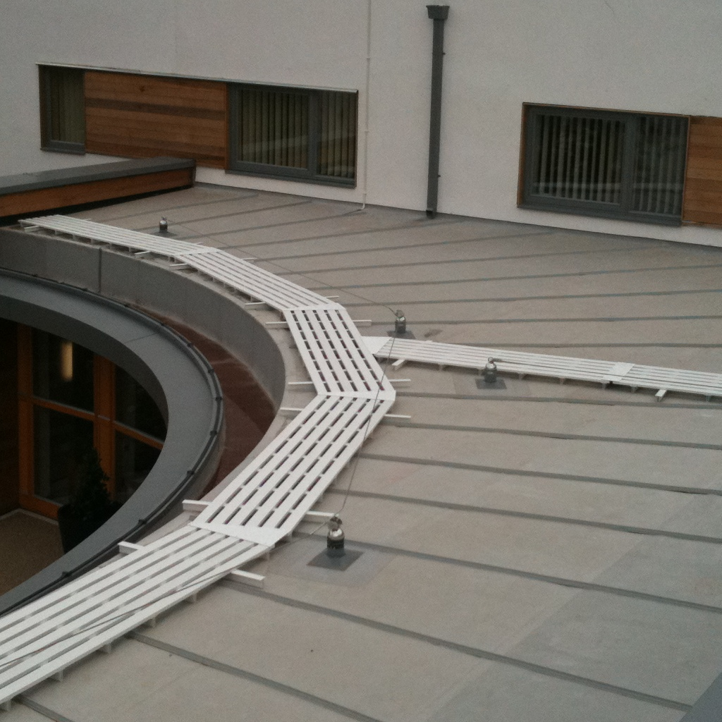 WalkSafe Rooftop Walkways | Mantech (Safety Systems) Ltd