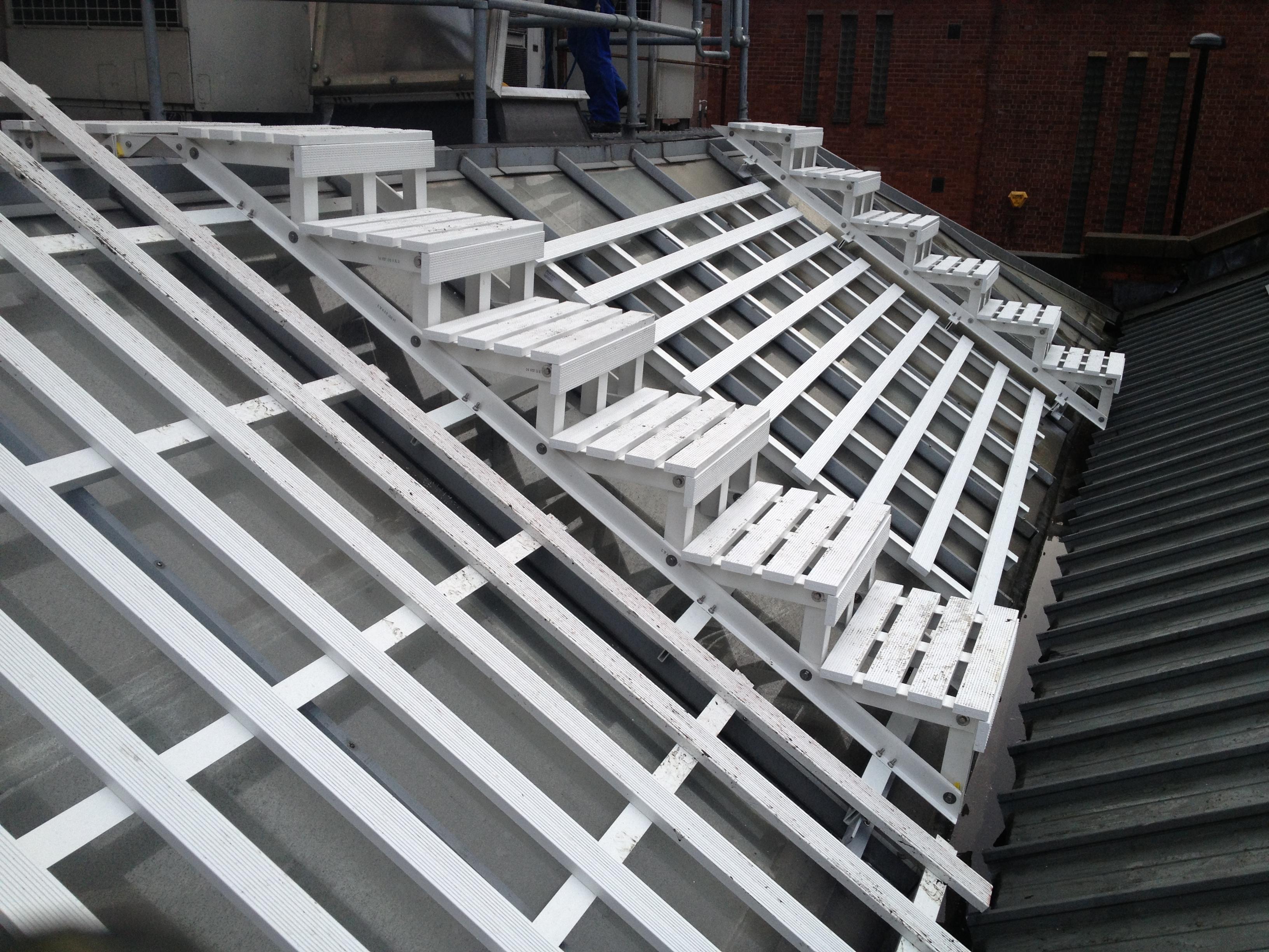 WalkSafe Rooftop Walkways   Mantech (Safety Systems) Ltd